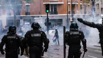 Demonstrują w sprawie Palestyny. Starcia z policją w Europie