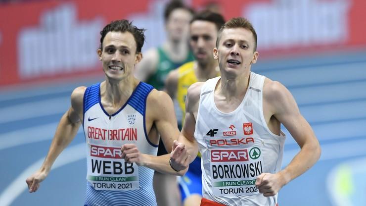 HME Toruń 2021: Mateusz Borkowski pobiegnie jednak w finale 800 m