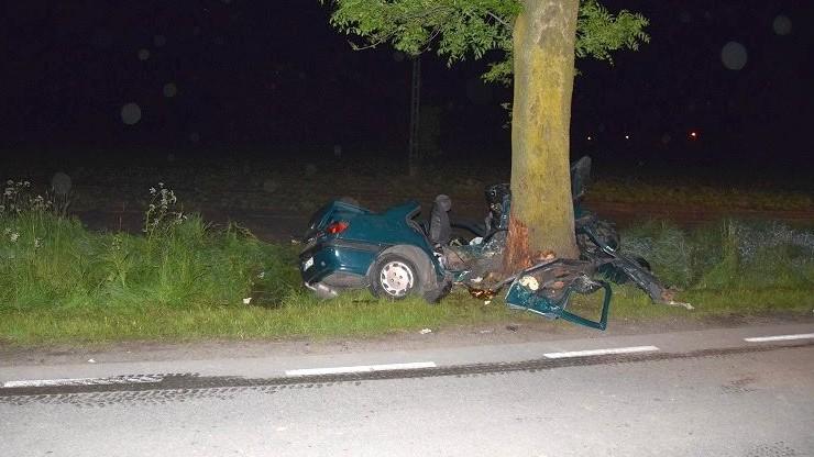 Tragiczny wypadek w Łódzkiem. Zginęły trzy młode osoby