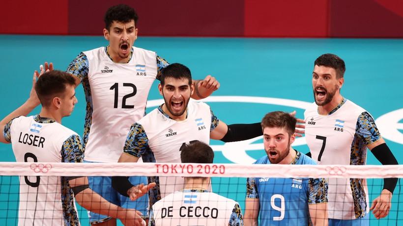 Tokio 2020: Argentyna w półfinale po tie-breaku z Włochami! Rywala wyłoni mecz Polska – Francja