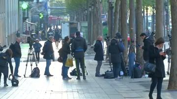 Atak w Paryżu: poszukiwany mężczyzna sam oddał się w ręce policji