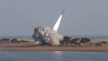 Korea Północna najpewniej wystrzeliła pocisk w kierunku morza