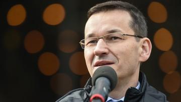 Morawiecki zachęca studentów w Londynie do powrotu do Polski