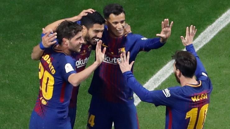 Puchar Króla: Barcelona rozgromiła Sevillę i po raz 30. zdobyła trofeum