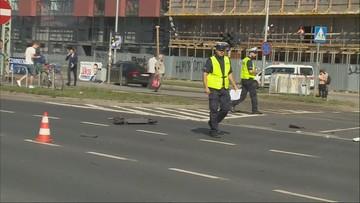 Śmiertelny wypadek we Wrocławiu. Zginął młody mężczyzna jadący hulajnogą