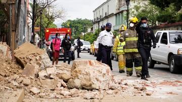 Trzęsienie ziemi w Meksyku. Co najmniej cztery ofiary