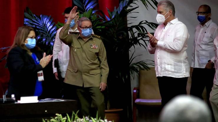 Raul Castro rezygnuje i przekazuje władzę w partii młodszemu pokoleniu