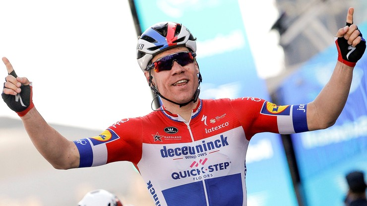 Tour de Pologne: Fabio Jakobsen wrócił na rower po wypadku w Katowicach