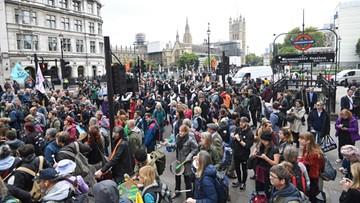 Londyńska policja: 135 aresztowanych podczas akcji Extinction Rebellion