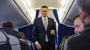 """""""Spotkania w kancelarii premiera oraz pilne, tajne dokumenty"""". Tak Morawiecki tłumaczy wcześniejsze opuszczenie szczytu UE"""