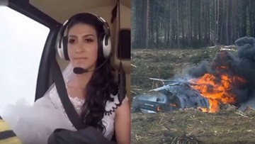 Panna młoda leciała na ślub helikopterem. Zginęła w katastrofie