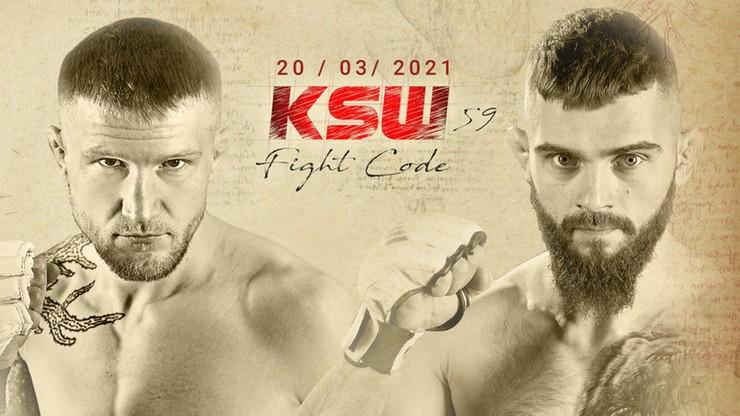 KSW 59: Łukasz Rajewski zmierzy się z Mateuszem Legierskim