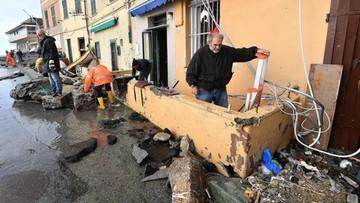Włochy: co najmniej 12 ofiar śmiertelnych niepogody. Zbliża się kolejny front ulew