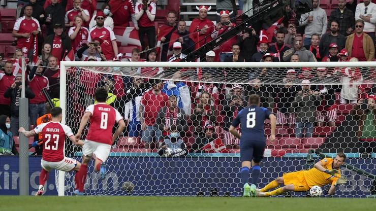 Euro 2020: Dania - Finlandia. Zwycięstwo Finów w cieniu dramatu Christiana Eriksena