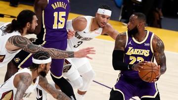 NBA: Lakers i Celtics przedłużyli serie zwycięstw