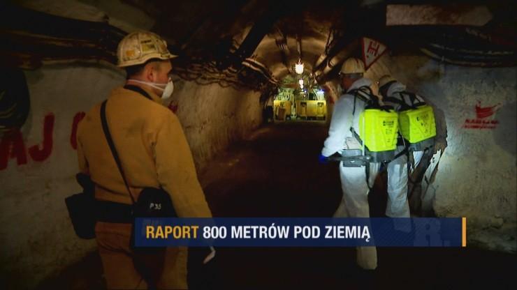 """""""Raport"""": kopalnia pod specjalnym, sanitarnym nadzorem"""