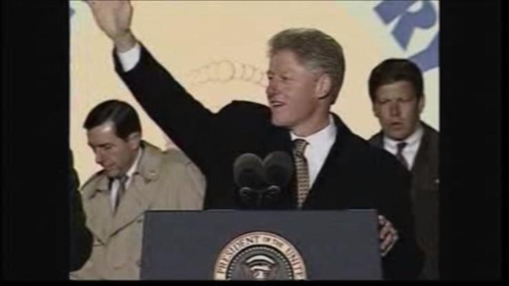 Pożar rodzinnego domu Billa Clintona - możliwe podpalenie