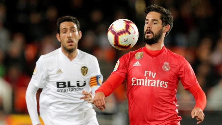 Real Madryt przegrał z Valencią