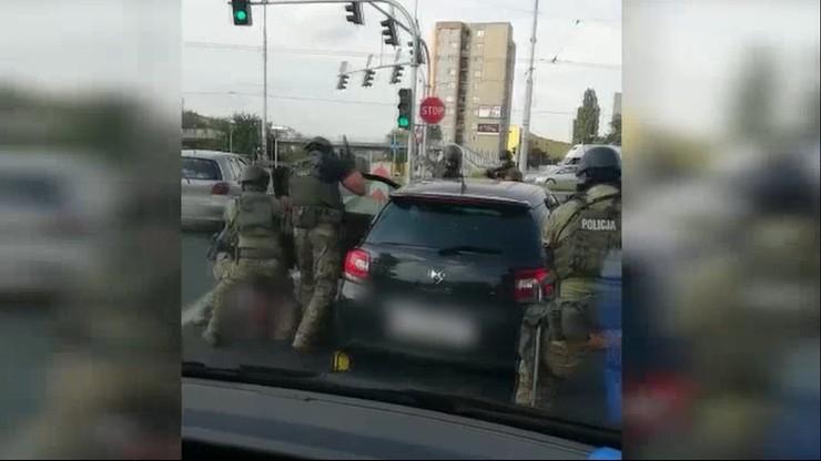 Spektakularne zatrzymanie po brutalnym napadzie w Lublinie