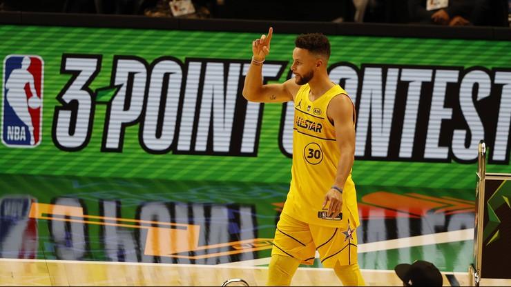 NBA: Rekord Stephena Curry'ego. James Harden zdetronizowany