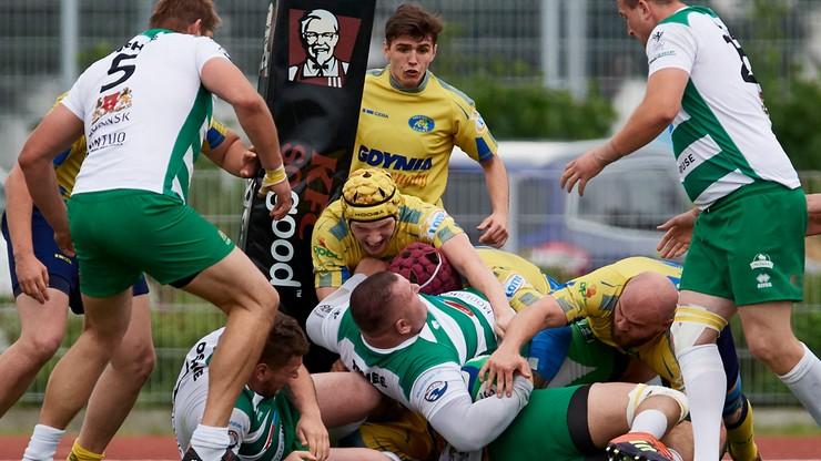 PP Ekstraligi rugby: Lechia lepsza w derbach Trójmiasta
