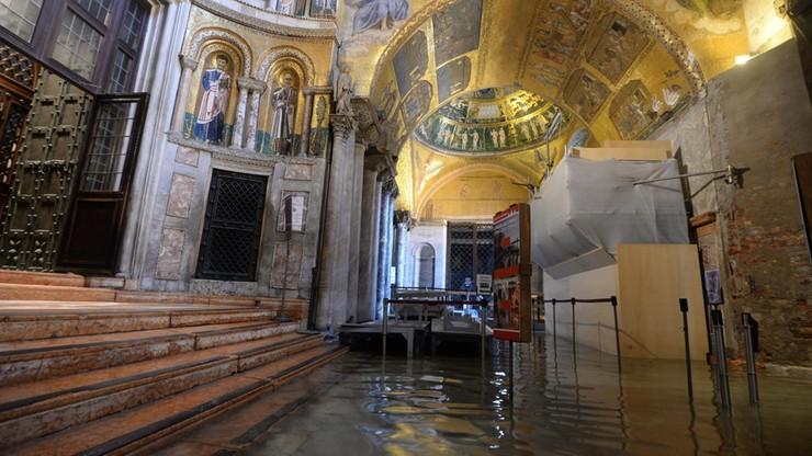 Wenecja tonie. Szkody wyceniono na setki milionów euro