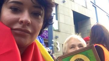 """Chciała """"egzorcyzmować"""" rzeczniczkę SLD na Marszu Równości. Później sama w nim poszła"""