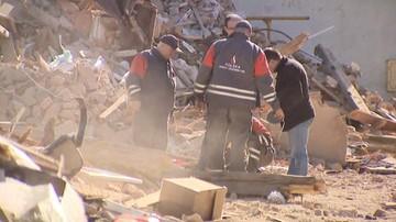 Pocisk moździerzowy znaleziono w miejscu katastrofy w Świebodzicach