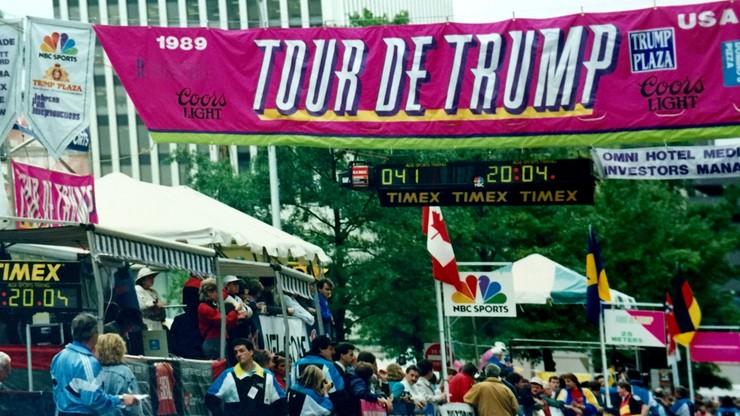 Tour de Trump miało być jak Tour de France. Niespełnione ambicje prezydenta USA