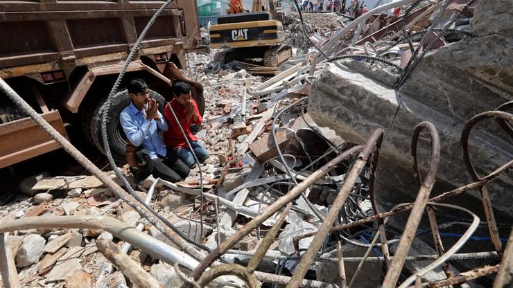Kambodża: runął sześciopiętrowy budynek. Wzrosła liczba ofiar