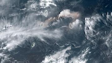 Potężna erupcja wulkanu na karaibskiej wyspie