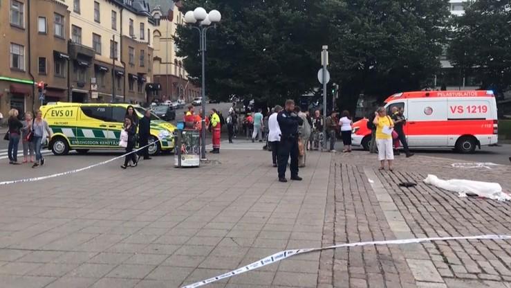 Finlandia: kilka osób zaatakowanych nożem w centrum Turku. Dwie osoby nie żyją