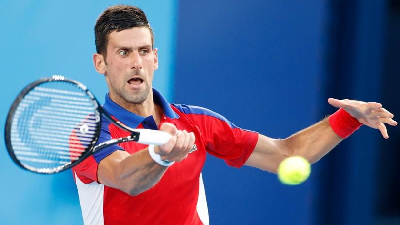 Tokio 2020: Novak Djokovic w ćwierćfinale