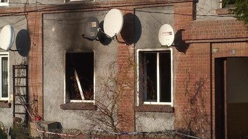 Zaprószenie ognia z pieca lub świeczki. Wstępne przyczyny pożaru, w którym zginęło troje dzieci