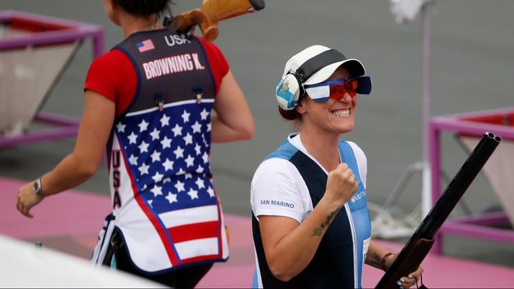 Historyczny medal. Pierwsza zawodniczka z San Marino na olimpijskim podium