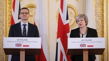 Morawiecki o umowie ws. Brexitu: najlepsza z możliwych, ale zapraszamy Polaków z powrotem