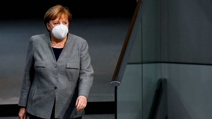 Niemcy: spotkanie Merkel z premierami krajów związkowych ws. lockdownu i kolejnych obostrzeń