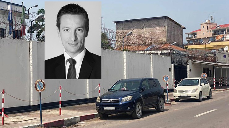 Zamach na ambasadora Włoch w Kongu.