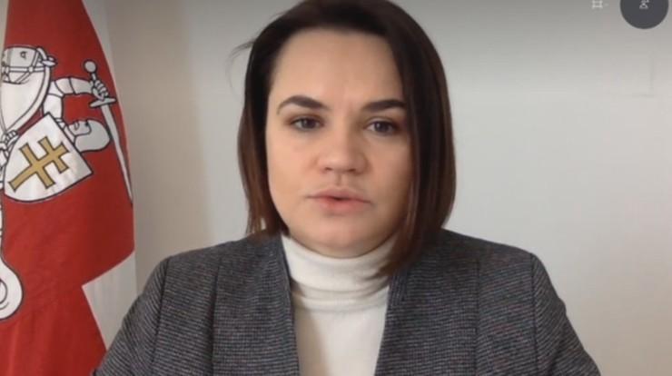 Cichanouska: dialog z władzami możliwy po uwolnieniu więźniów politycznych