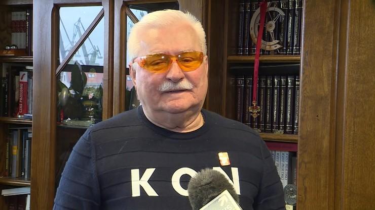 Wałęsa: mój Pan Bóg jest z komputera najnowszej generacji