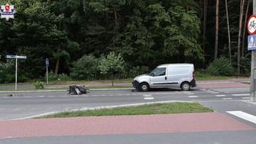 Potrącił inwalidę na przejściu dla pieszych. 82-latka nie udało się uratować
