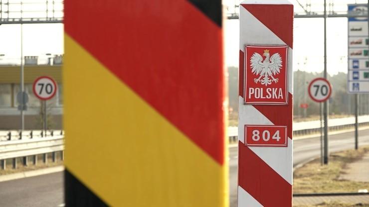 Nowe przepisy w Niemczech. Wzmocnione kontrole na granicy z Polską
