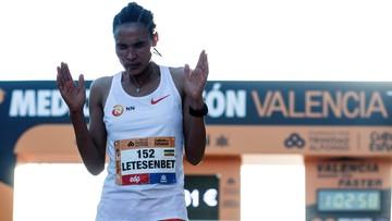 Etiopka Letesenbet Gidey z rekordem świata w półmaratonie