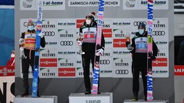 Turniej Czterech Skoczni: Klasyfikacja generalna na półmetku rywalizacji
