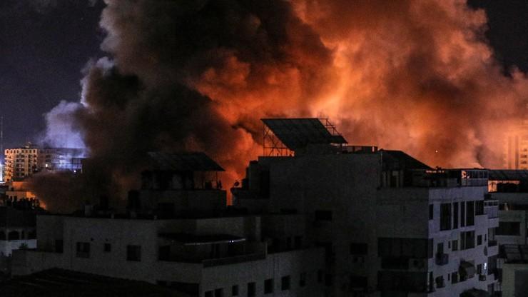 Strefa Gazy. Izraelskie naloty zniszczyły jedyne laboratorium testowe Covid-19