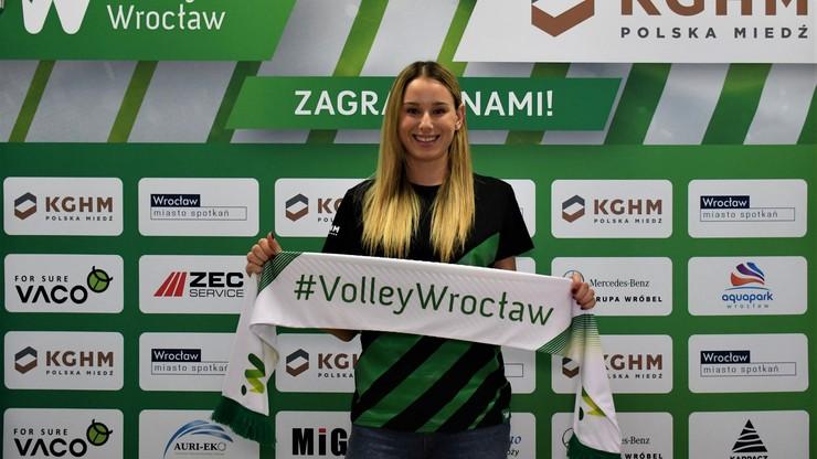 Nowa przyjmująca #VolleyWrocław