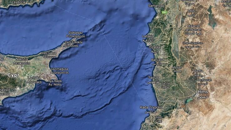 Wyciek ropy na Morzu Śródziemnym. Ogromna plama zanieczyszczeń płynie w stronę Cypru