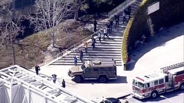 Strzelanina w siedzibie firmy YouTube w Kalifornii. Sprawczyni popełniła samobójstwo