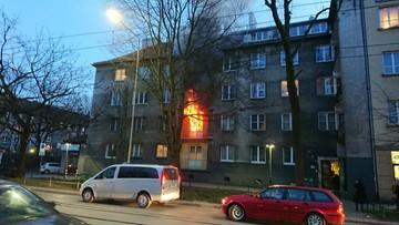 Pożar kamienicy w centrum Krakowa. Jedna osoba nie żyje