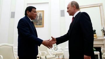 Prezydent Filipin poprosił Putina o broń na islamistów